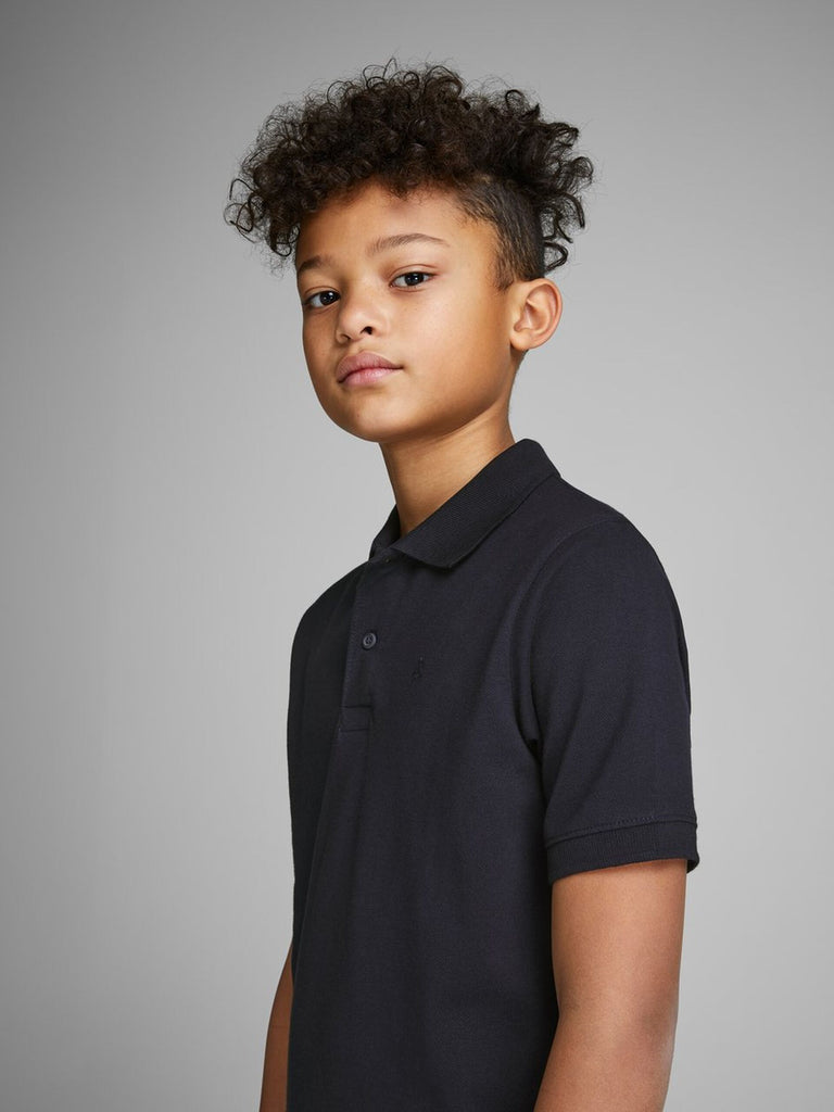 Junior Basic Polo Tee by Jack & Jones Juniors