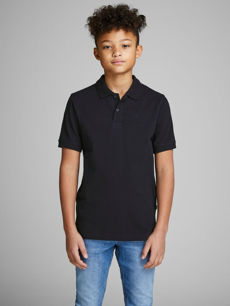 Junior Basic Polo Shirt navy
