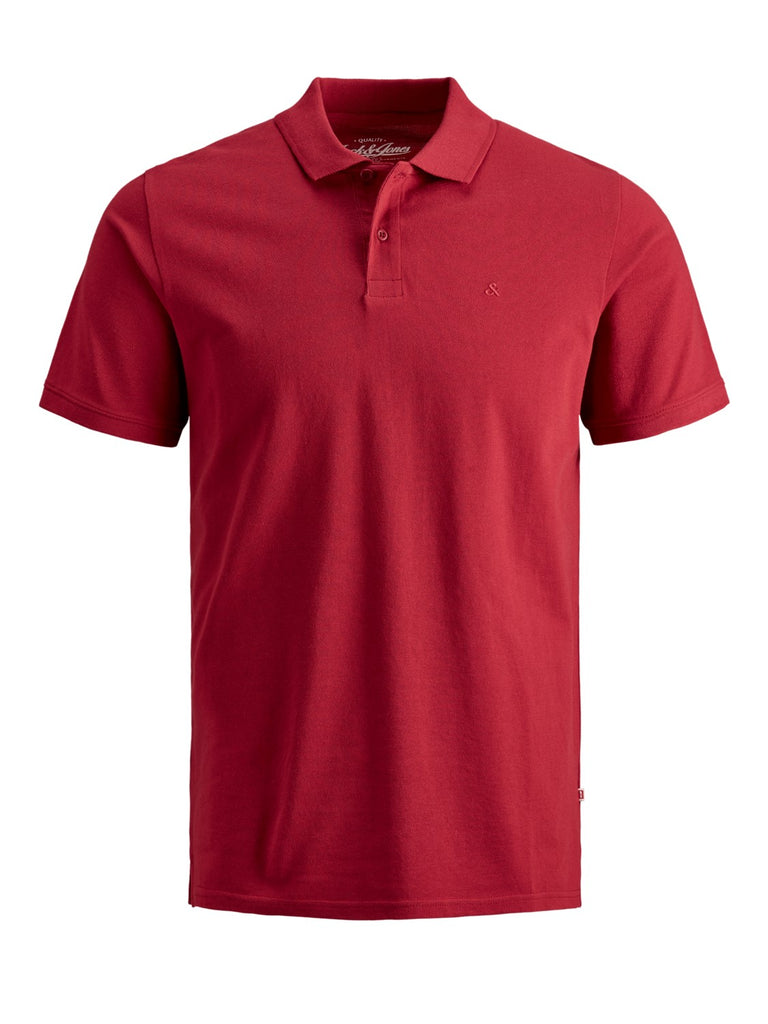 Junior Basic Polo Shirt red