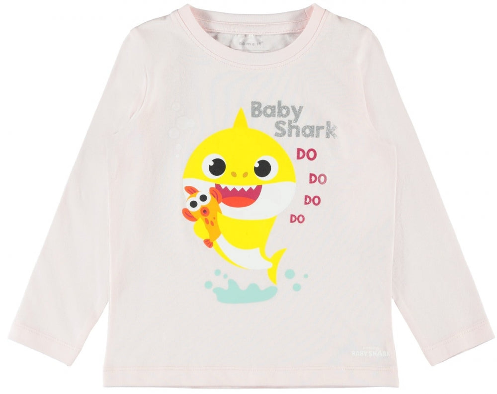 Baby Shark Pearl Long Sleeve Top by Name it.