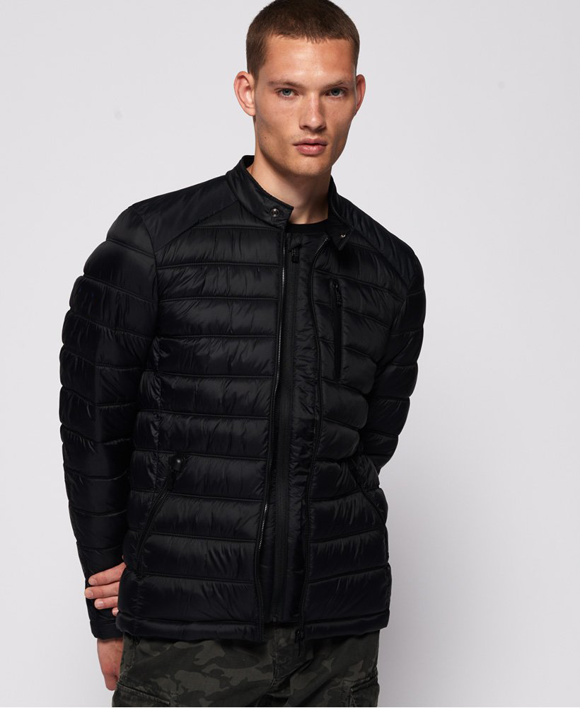 Commuter Quilted Biker Jacket