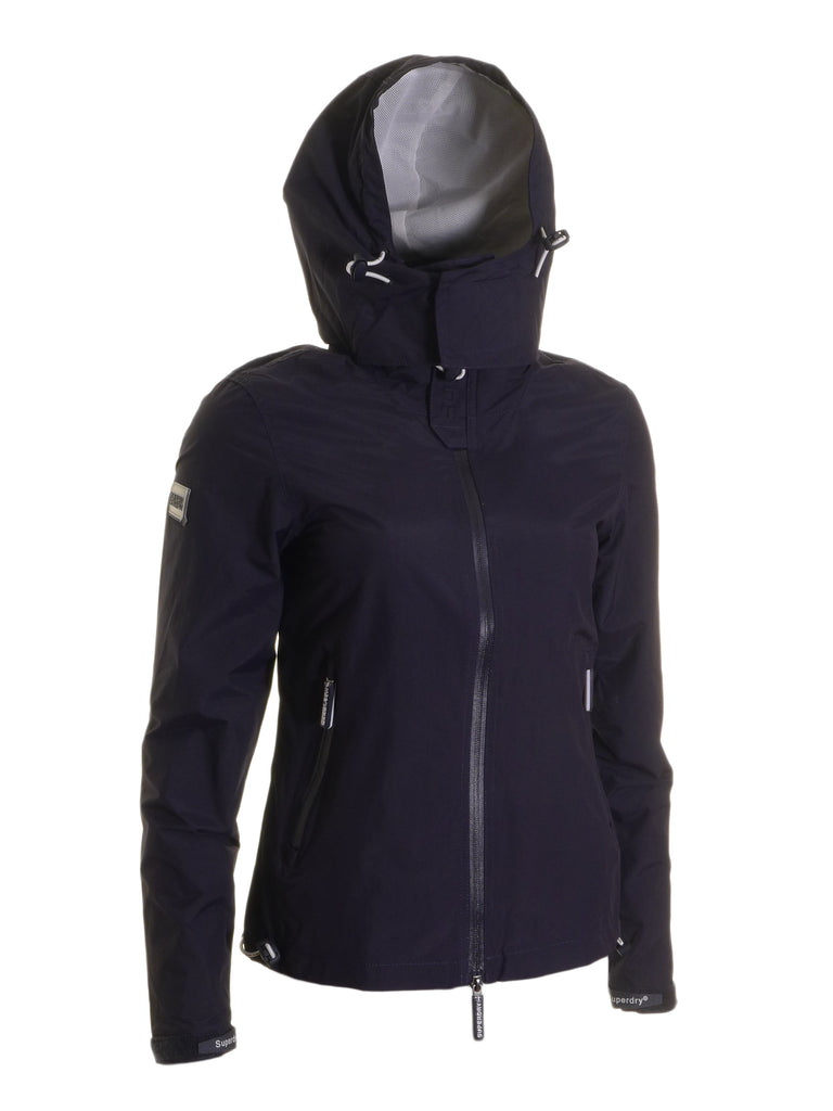 Cliff Hiker Navy Jacket By Superdry Womens