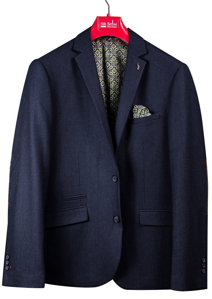 Brighton Navy Blazer By 6Th Sense Global Designs