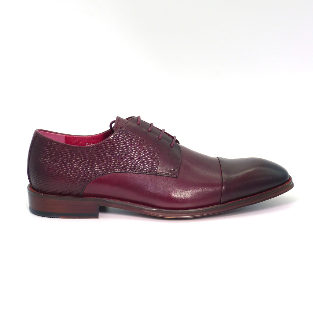 Calvin Burgundy Formal Shoe
