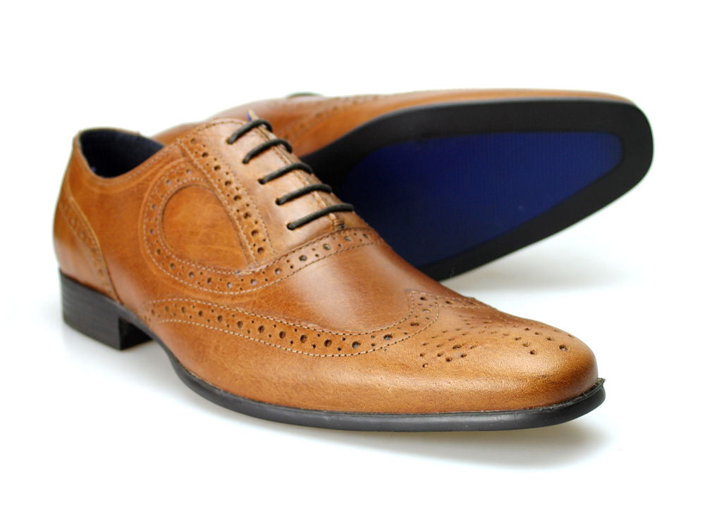 Carlow Mens Brogue Shoe By Red Tape