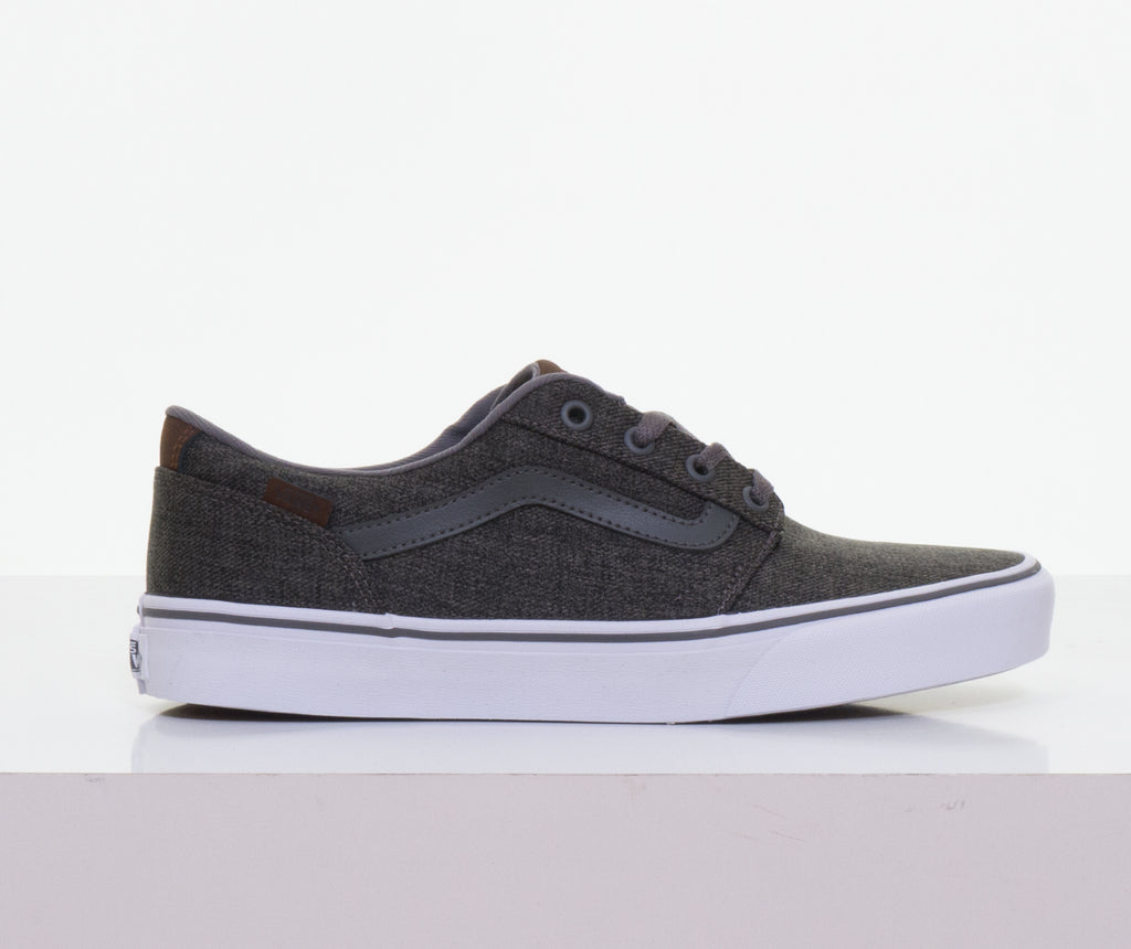 Chapman Stripe Pewter White By Vans