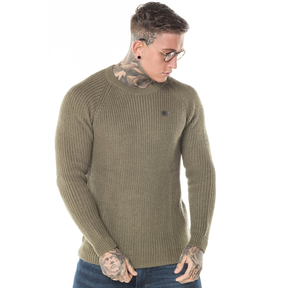 11 Degrees Chunky Knitted Jumper