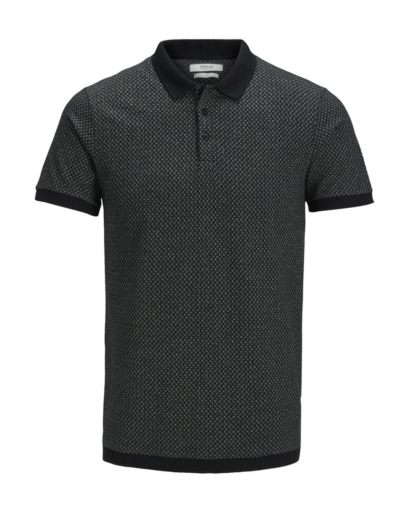 Clash Short Sleeve Polo by Jack & Jones Premium