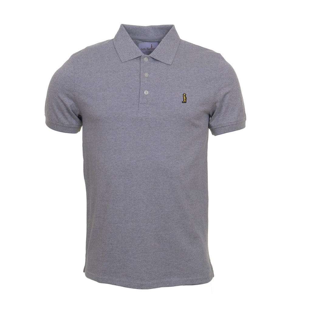 Classic Heritage Grey Polo by 6th Sense Heritage