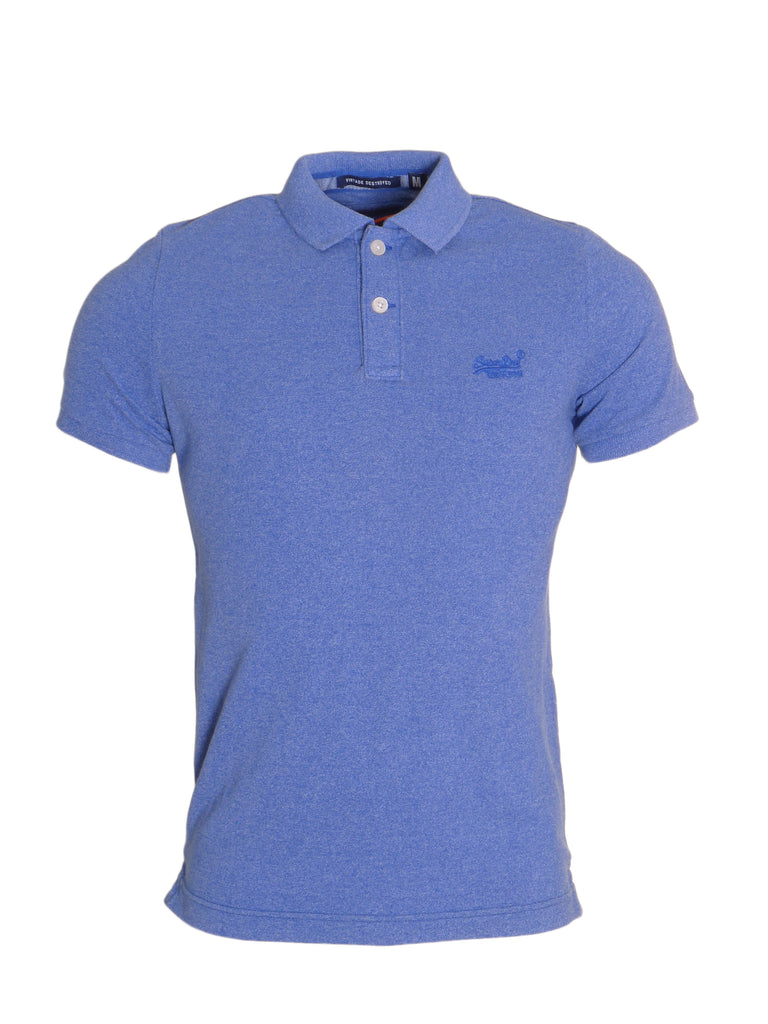 Destroyed Cambridge Polo by Superdry Boston Blue