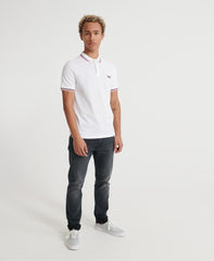 Classic Micro Lite Tipped Short Sleeved Polo front