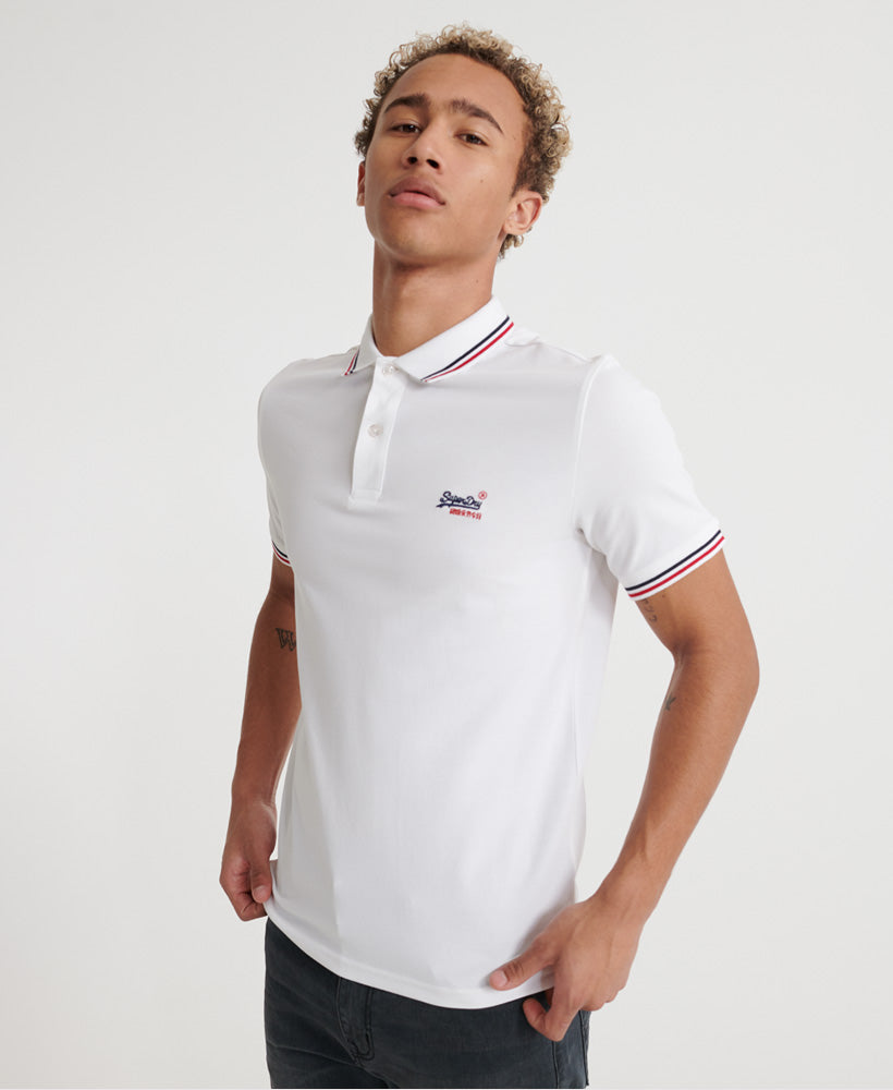 Classic Micro Lite Tipped Short Sleeved Polo