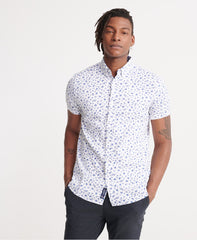 Classic Shoreditch Optic Print Short Sleeved Shirt