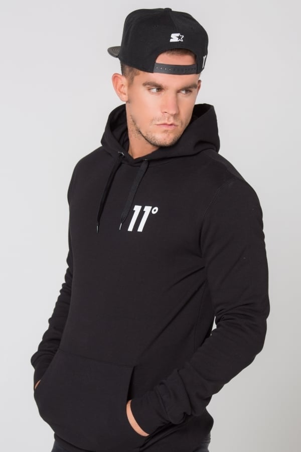 55d878cc283 Core Pull Over Hoodie by 11 Degrees