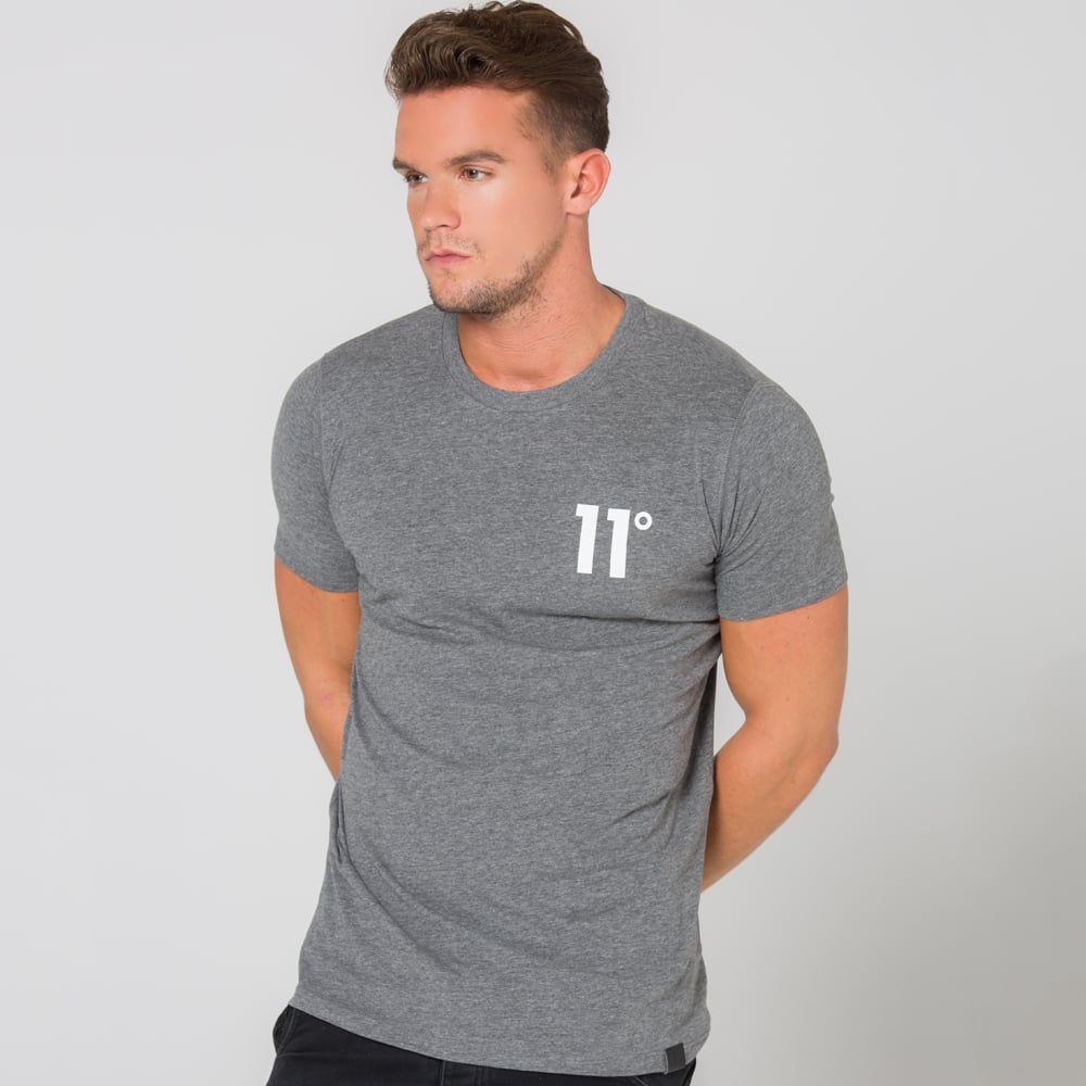 11 Core Tee Charcoal 11D-392
