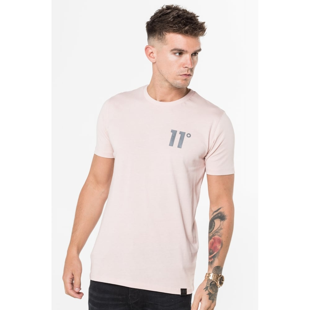 Core Tee Dusty Pink by 11 Degrees
