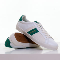 Vintage Court White Trainer by Superdry