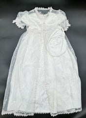 Christening Dress With Hat