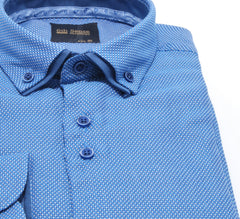 Double Collar Fashion 3 Royal Shirt by 6th Sense