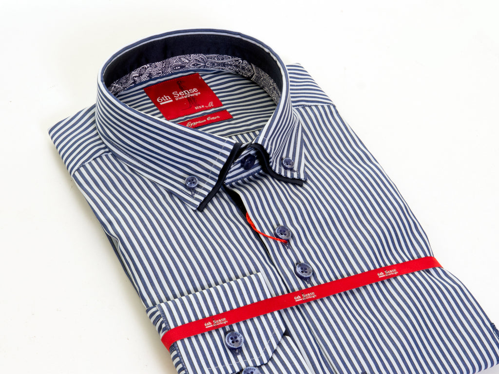 Dc Marcus Double Collar Shirt By 6th Sense
