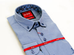Dc Micro Print Shirt By 6th Sense