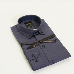 Dc Print Double Collar Shirt By 6th Sense