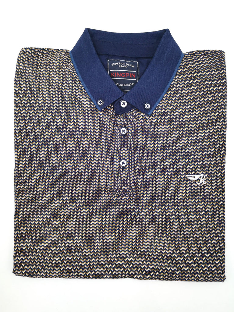 Dexter Short Sleeve Polo Navy