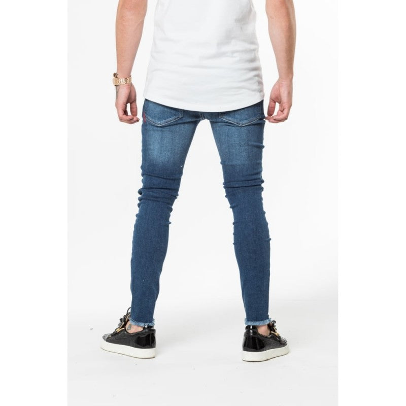 11D-773 Distressed Skinny Jeans by 11 Degrees