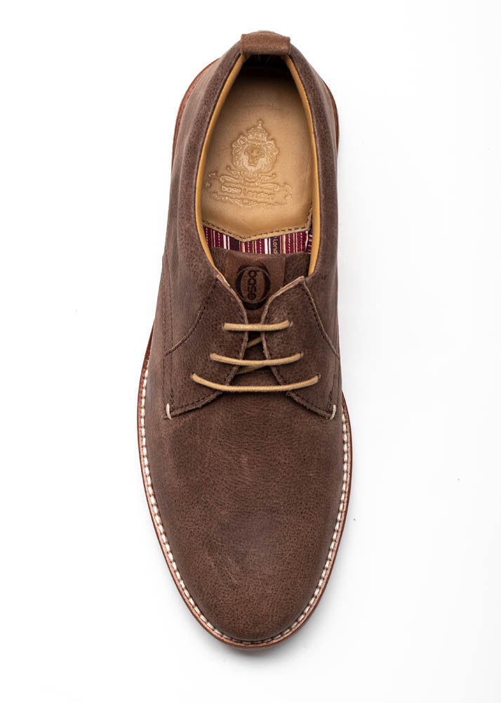 Base London Driscoll Softy Brown Shoe