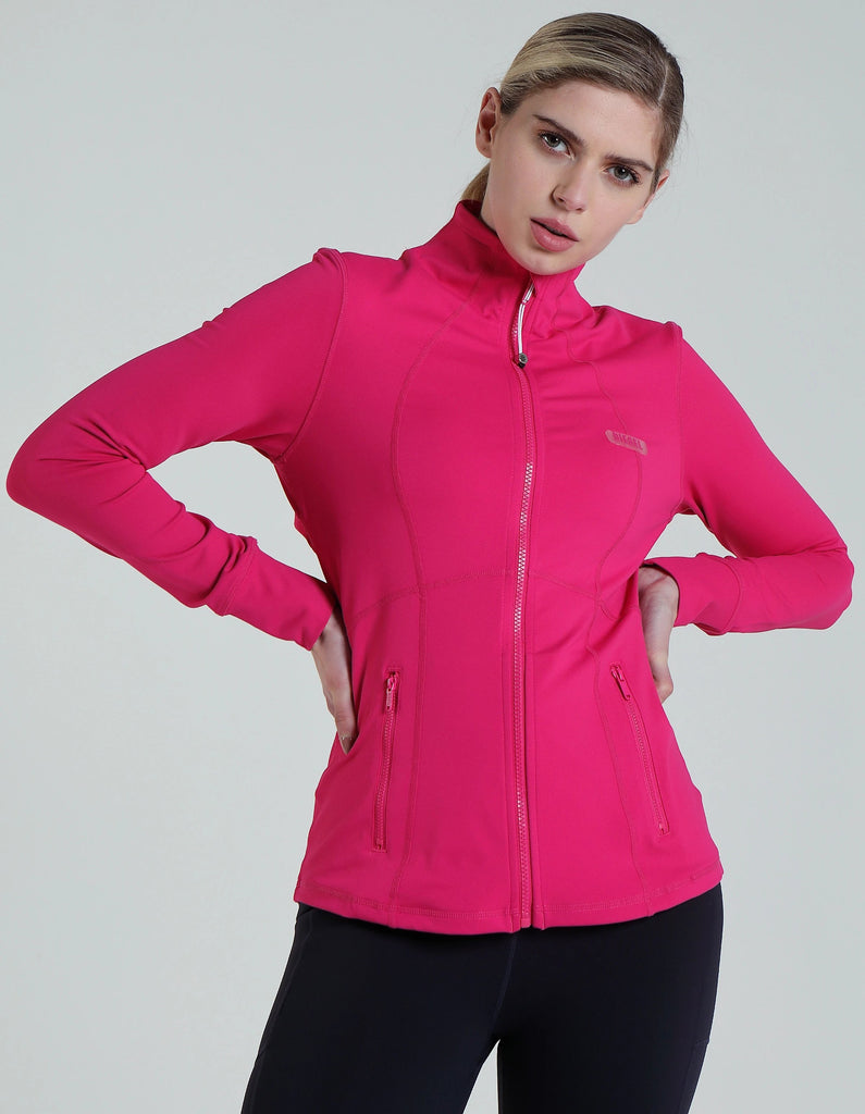 Violet Zipper sweatshirt in pink