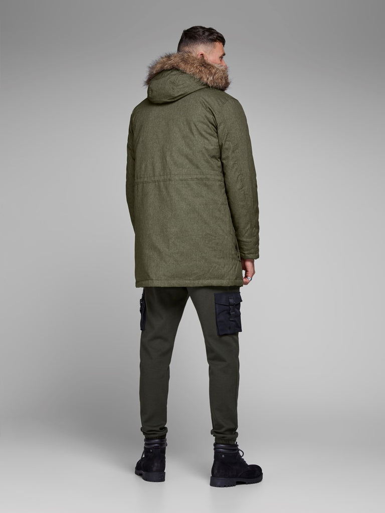 Earth Parka Jacket by Jack & Jones Core - Back