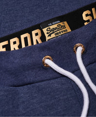 Orange Label Navy Elite Joggers by Superdry Womens
