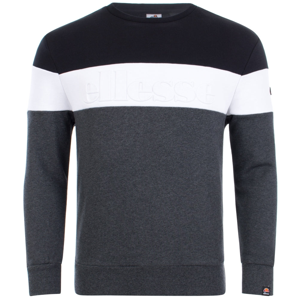 Torre Sweatshirt Dark Grey Marl by Ellesse