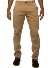 Mens Tapered Fit Stretch Sand Pants By Eto Jeans