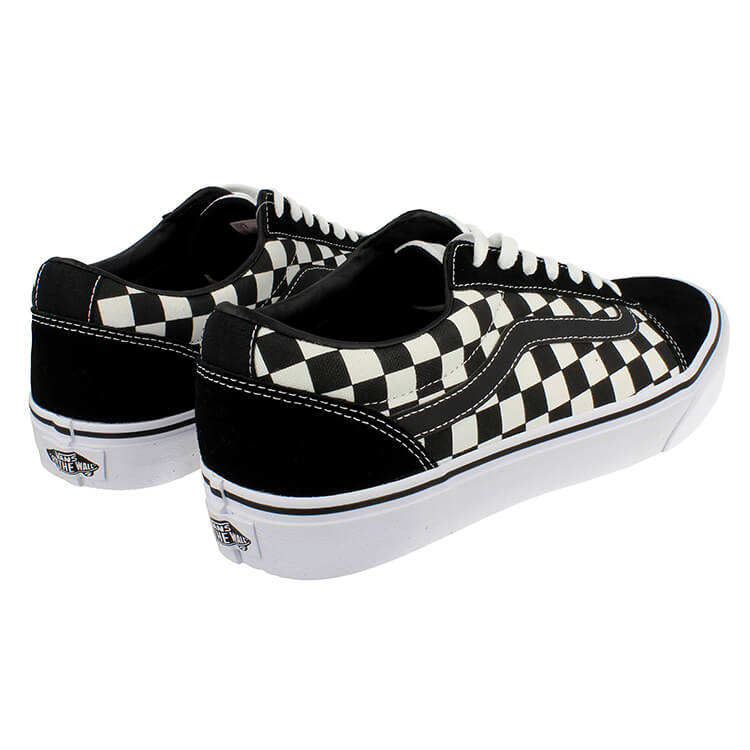 Men Ward (CHECKERED) Black/White