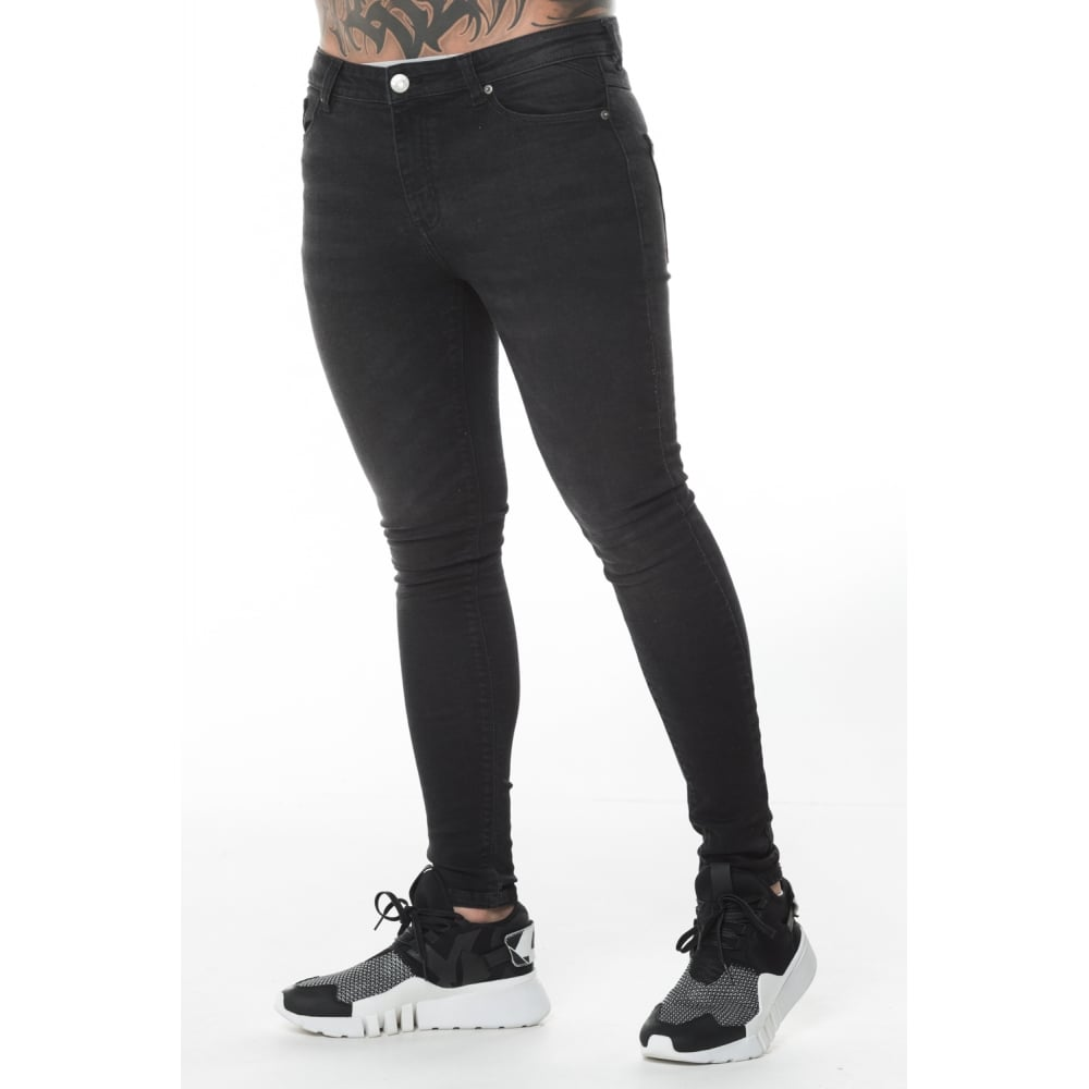 c210097c8a5d Essential Skinny Jeans Washed Black by 11 Degrees – Spirit Clothing