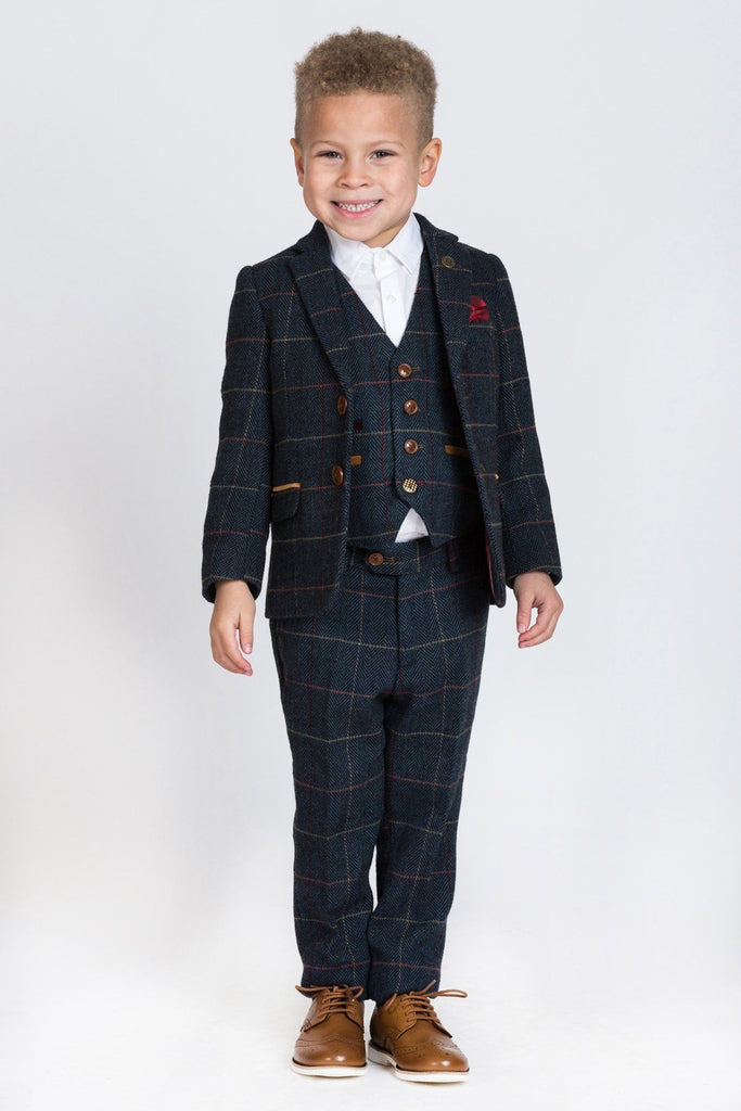 Eton Boy 3 Piece Suit