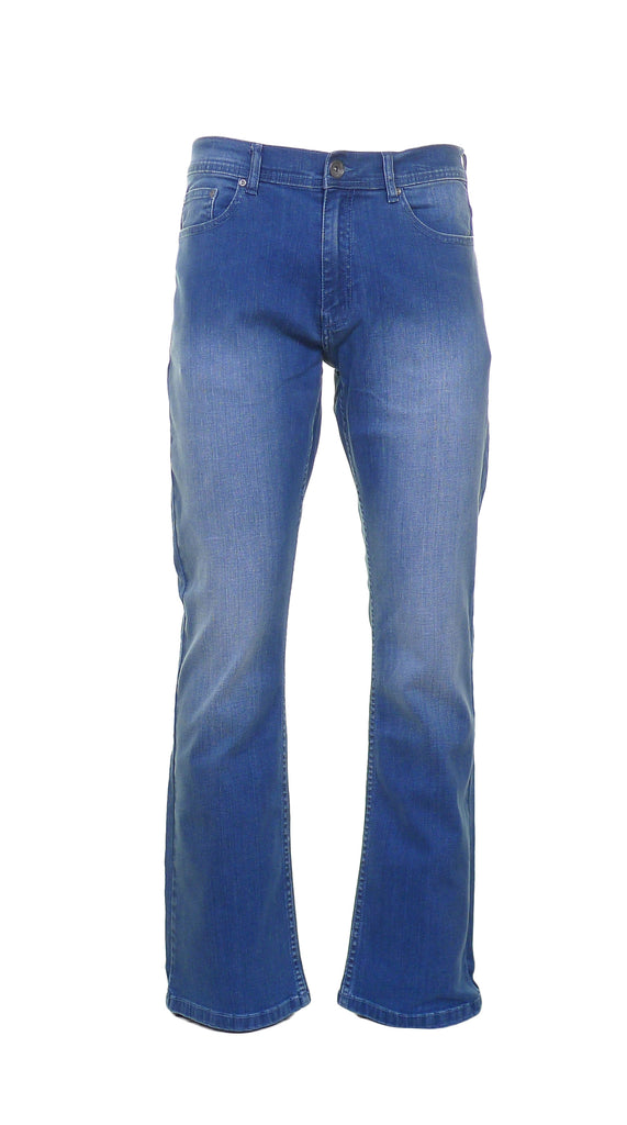 Enzo Light Wash Flare Jeans