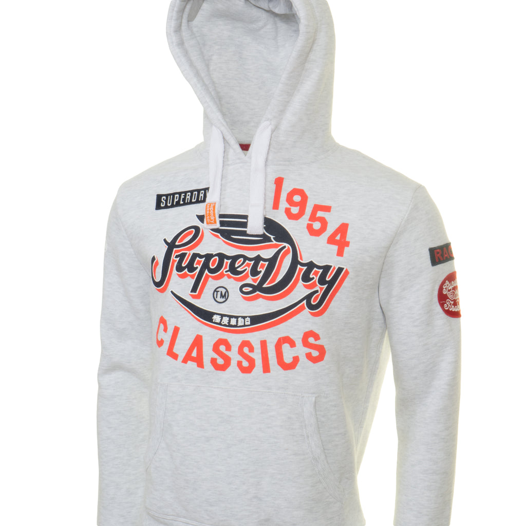 Famous Flyers Grey Hood by Superdry