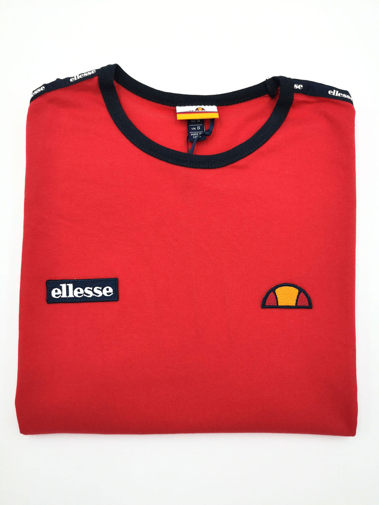 Fedora Red Tee by Ellesse