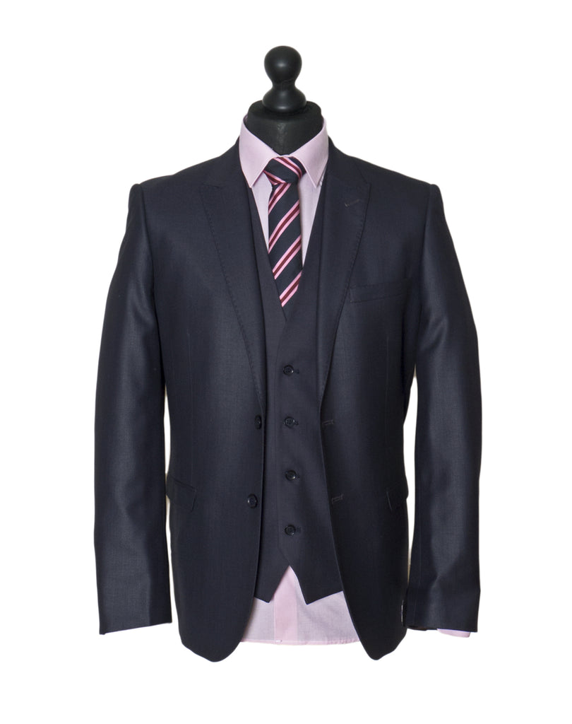 Fil Fil Tapered Fit Suit By Benetti