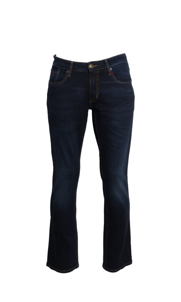 Fred Blue Black Stretch Denim