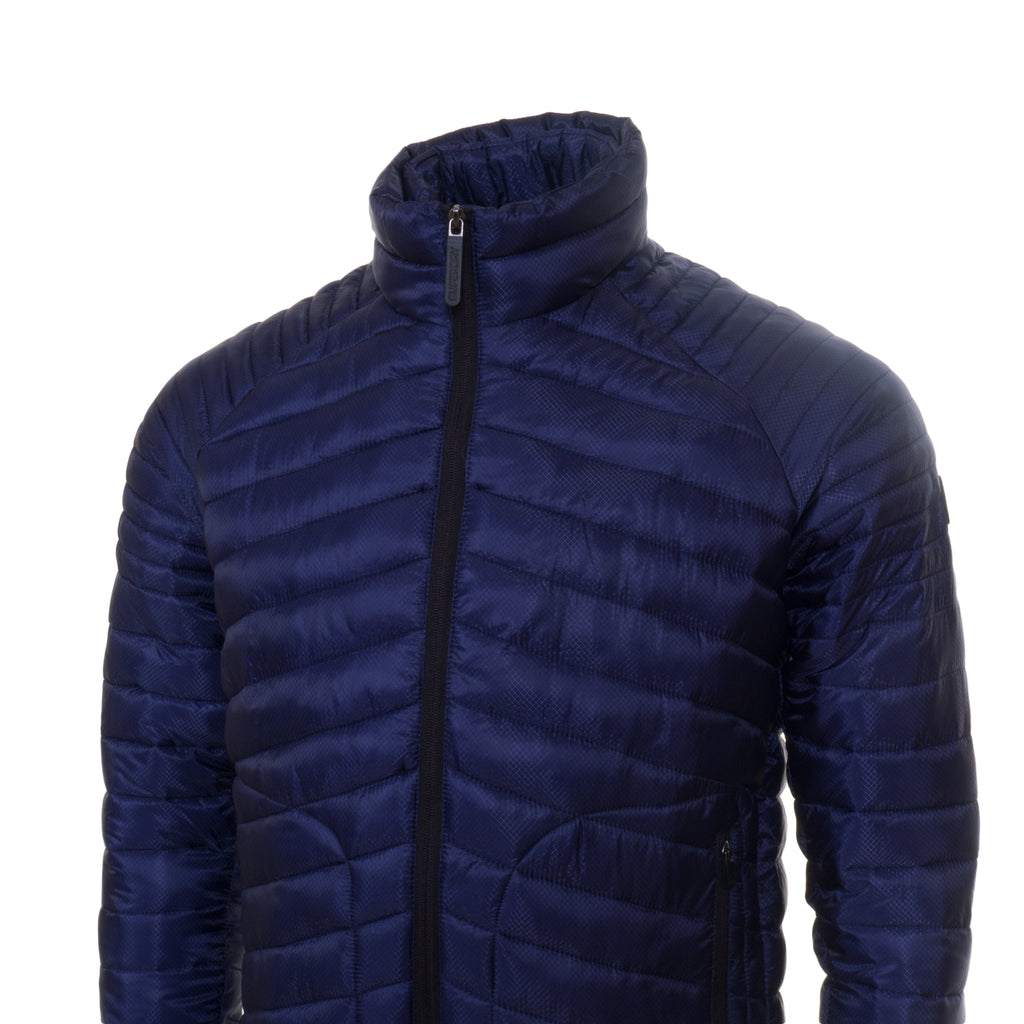 Fuji Double Navy Jacket by Superdry