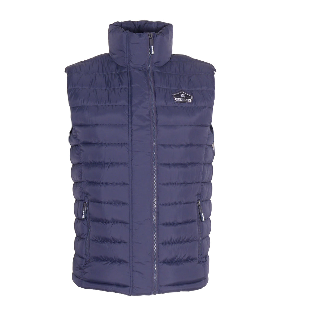 Fuji Double Zip Vest By Superdry