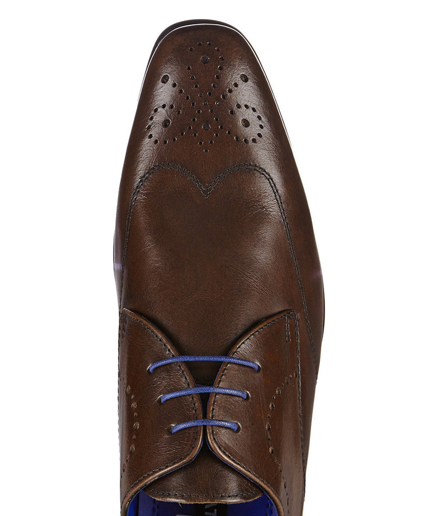 Gala Brown Shoe By Redtape