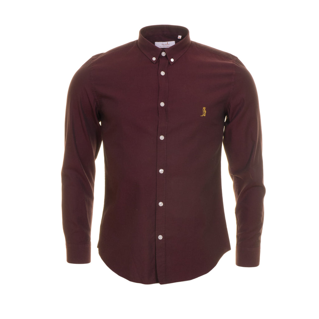Harold Oxford Burgundy Shirt by 6th Sense Heritage