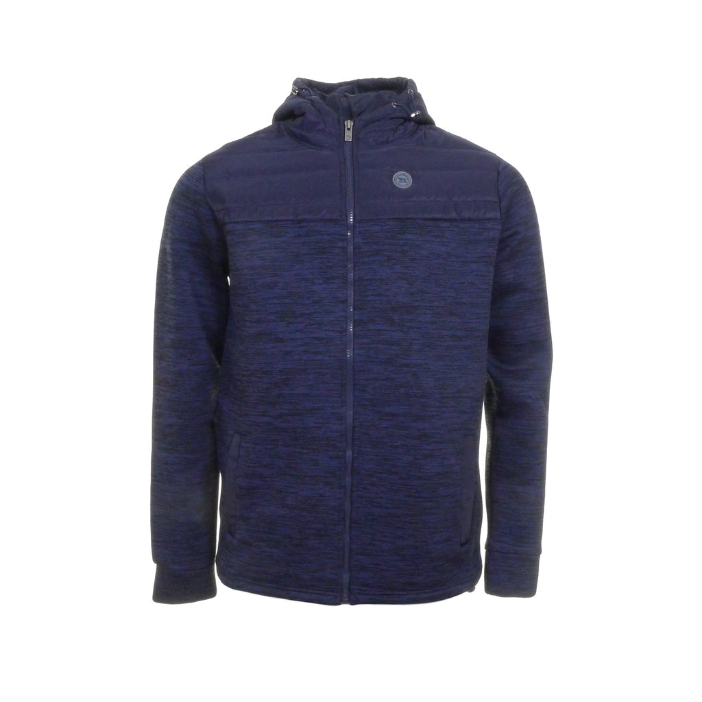 Henley Zip Up Hoodie by Kingpin - Front