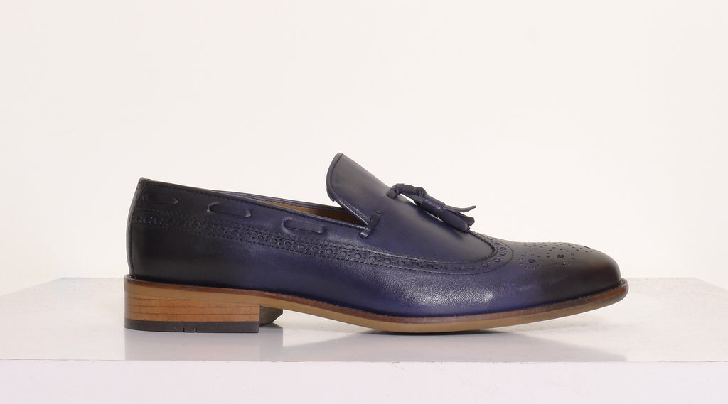 Benetti Henry Navy loafer
