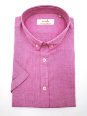 Heritage Oxford BD Pink Short Sleeve Shirt