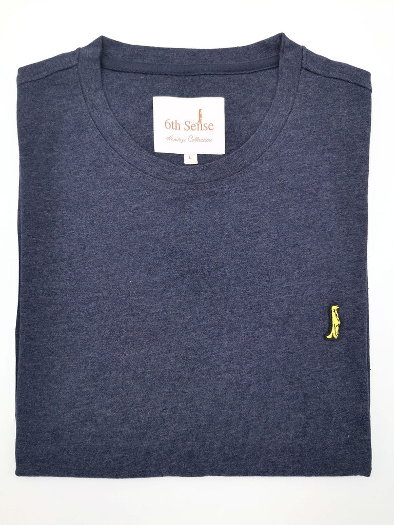 Heritage Short Sleeve Tee 201 by 6th Sense navy